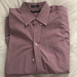 never worn button down long sleeve